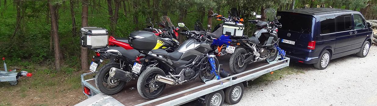 HARIHO spoločnosť ponúka prepravu motoriek.